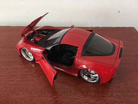 Mini Automovel Corvette Z06 Ano 2006 Na Esc. 1/24 Da Jada