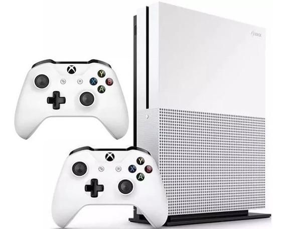 Console Microsoft Xbox One S 1tb 2 Controles Original Lacrad