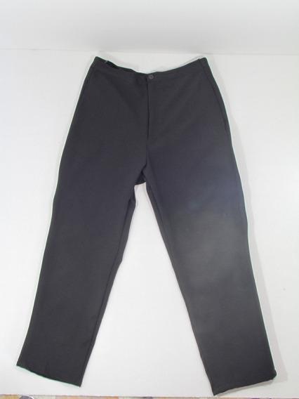 Pantalón Negro Strech O Flexible Talla L