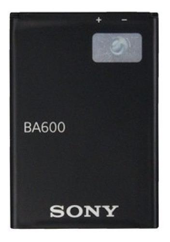 Bateria Pila Sony Xperia Ba600 St25i Nuevas Garantizadas