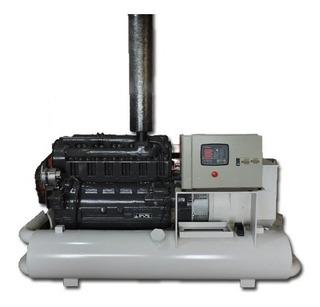 Grupo Electrógeno Deutz 143 Kva Trifasico Ideal Industria