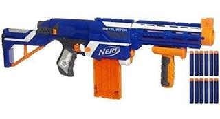 Nerf Fusil De Juguete Hasbro Rifle De Dardos Automatico