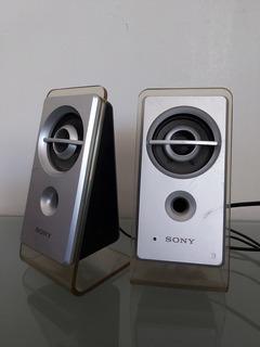 Bocinas Para Computadora Sony Modelo Srs-d21