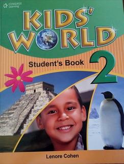 Libro Kids World Student Book 2 Con Cd Nuevo