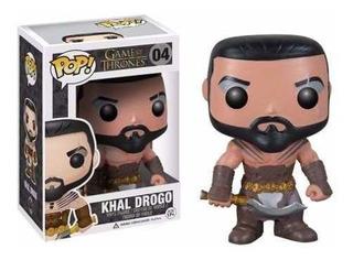 Funko Pop 04 Khal Drogo Game Of Thrones