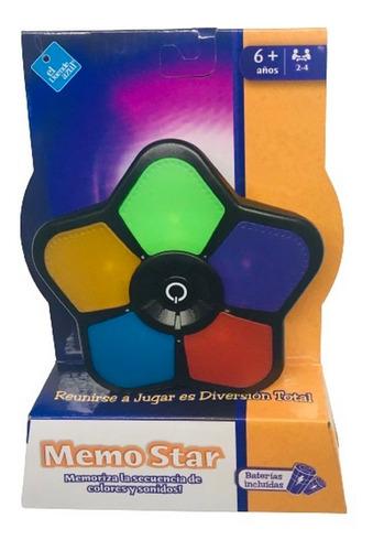 Imagen 1 de 6 de Juego De Memoria Con Sonido Y Luz Colores Ar1 7530 Ellobo
