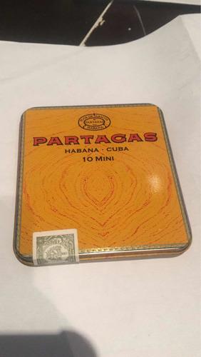 Tabacos Mini Partagas Cubanos Formato Deluxe