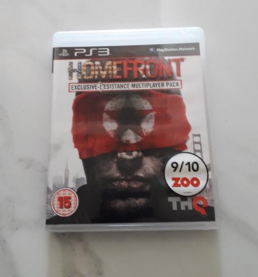 Jogo Homefront Ps3 Usado Cd Mídia Física Playstation 3