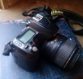 Camera Profissional Nikon D80 Digital Usada.
