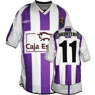 Nuevo Jersey Umbro Valladolid Cuauhtemoc Blanco Liga Español