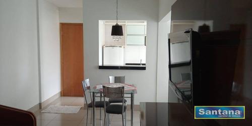 Apartamento Com 2 Dormitórios À Venda, 62 M² Por R$ 220.000,00 - Do Turista - Caldas Novas/go - Ap0397