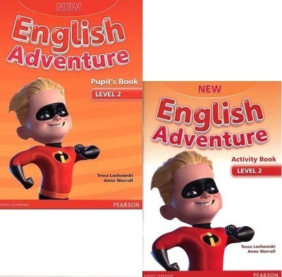 New English Adventure 2 - Pupil´s Book And Activity Book