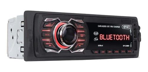 Som automotivo Knup KP-C29BH com USB, bluetooth e leitor de cartão SD