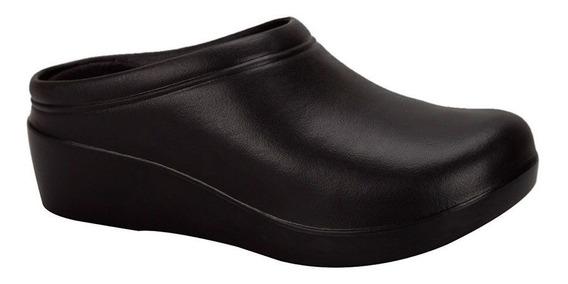 Zapato Confort Para Dama Tipo Sueco Cocina Chef Ligero