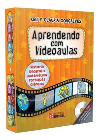 Coleção Aprendendo Com Videoaulas Kelly Cláudia Gonçalves