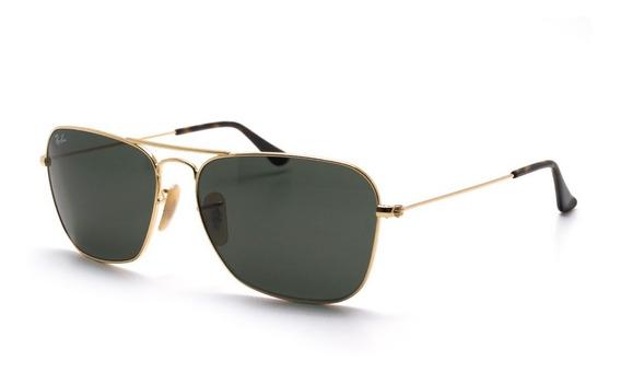 Óculos De Sol Ray-ban Caravan Masculino Feminino Original