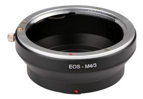 Anel Adaptador Lente Canon Ef Ef-s Eos-m43 M4/3 Panasonic