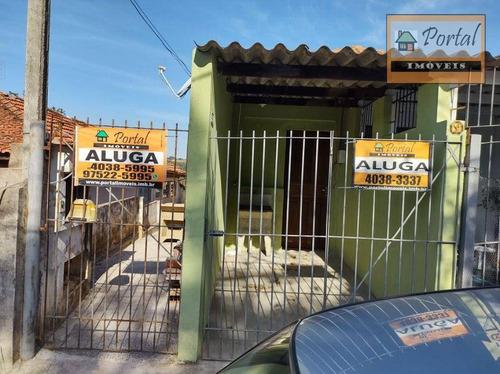 Casa Com 1 Dormitório Para Alugar Por R$ 650,00/mês - Vila Cardoso - Campo Limpo Paulista/sp - Ca0099