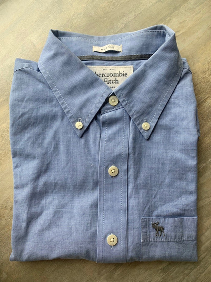 Camisa Abercrombie Social Pronta Entrega