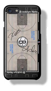 Funda Rigida Toda Linea iPhone Nba Brooklyn Nets - A Pedido