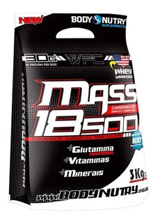 Mass 18500 Refil 3kg Body Nutry - Pronta Entrega !