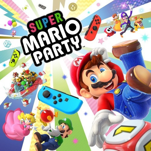 Super Mario Party Jogo Nintendo Switch Digital Eshop Alug.