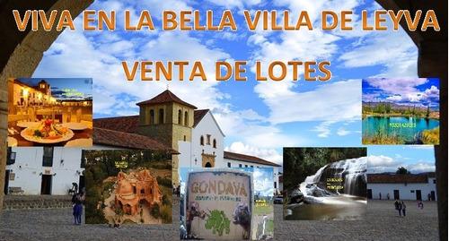 Viva En La Bella Villa De Leyva - Venta De Lotes