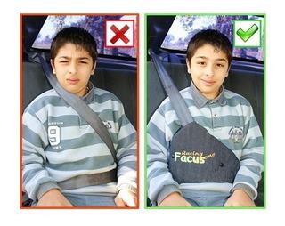 Facus Adaptador Infantil Para Cinturon De Seguridad Del Auto