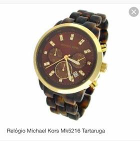 Relógio Michael Kors Mk5216 Tartaruga Original Feminino