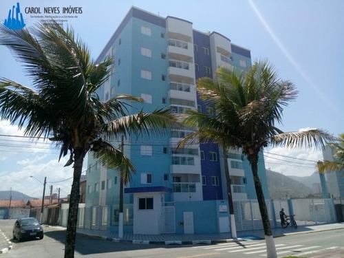 2602-residencial Frente Ao Mar Próximo Ao Centro De Mongaguá
