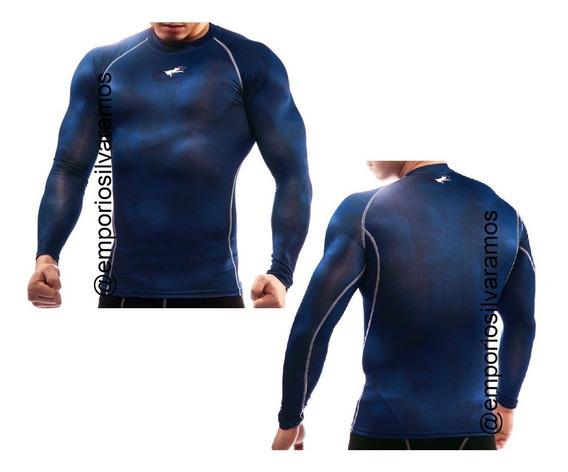 Camiseta Termica Rashguard Segunda Pele Camisa De Compressão