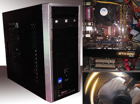 Cpu Gamer Gtx 560 Se 4gb Ram Hd 400gb Computador