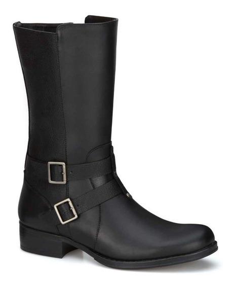 comprar popular 893bf cba19 Botas Negras Media Pierna Mujer - Calzado en Mercado Libre ...