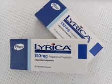 Pastillas Lyrica 150mg. Pfizer Caja 28u. Ex.12/2019