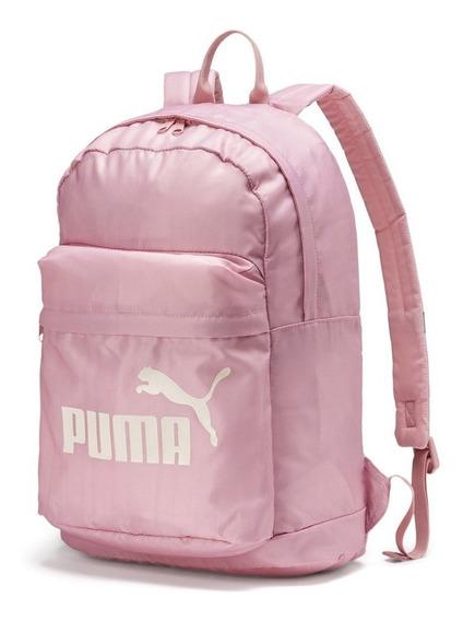 Puma Mochila Moda Mujer Classic Rosa - Corner Deportes
