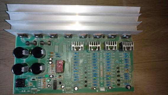 Placa Para Amplificador Stereo Potente 2x200rms 4 / 8ohm
