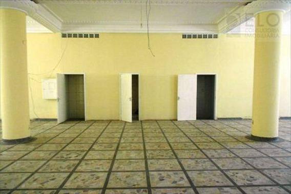 Salão Para Alugar, 461 M² Por R$ 10.000,00/ano - José Menino - Santos/sp - Sl0002