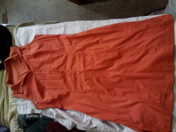 Vestido Mini Naranja Lote 3kilos Ropa Vestir Talle 2 B. Est