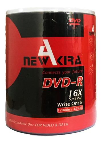 Dvd Virgen Newakira Estampado 4.7gb 120min 16x Bulk  X 100
