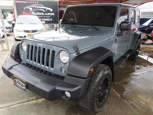 Jeep Wrangler Unlimited 2015 Sport Triptonico 3.6 4x4 4p