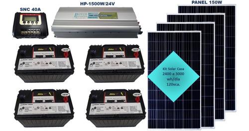 Imagen 1 de 6 de Kit Solar Casa, Envío Ocurre Gratis