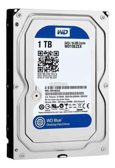 Disco Rigido 1tb Blue Wd Western Digital 64mb Sata 3 Mexx 2