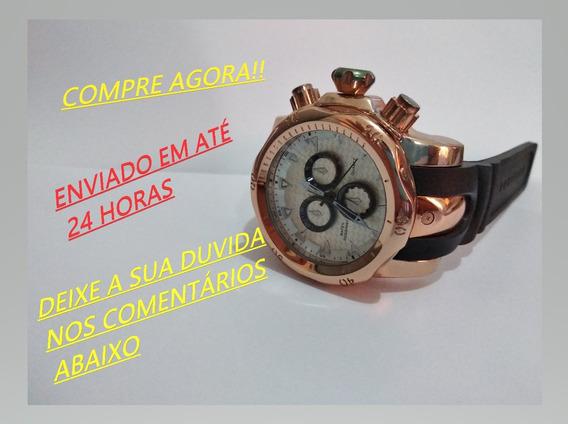 Relógio Shhors 1216 Homem Quartz - Rose Gold E White