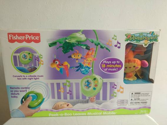 Móvil Musical Para Bebés Fisher Price. Nuevo