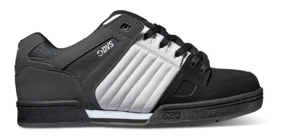 Dvs Celsius Black White Grey # 5 Al 7.5