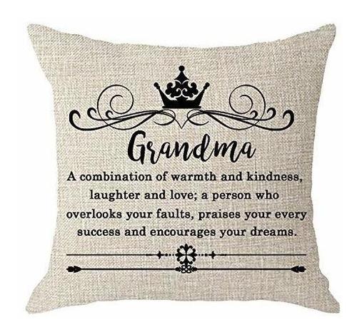 Regalo De Cumpleaños Para La Abuela Abuela Con Crema D...