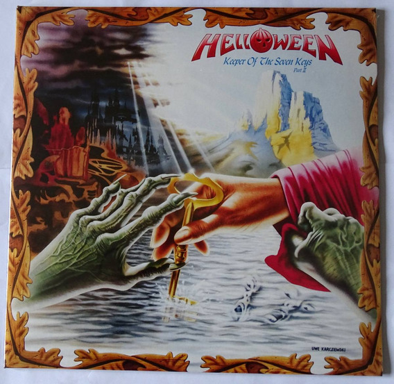 Lp Helloween - Keeper Of The Seven Keys Pt 2 180g Lacrado