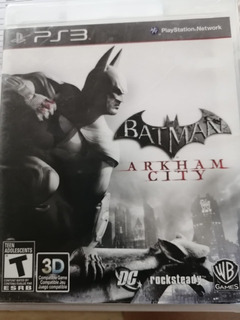 Videojuego De Ps 3 Batman Arkham City