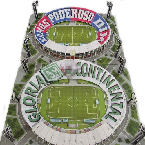 Atanasio Girardot 3d Original - Estadio3d Oficial Con Tifo