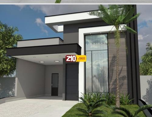 Ca09226 - Residencial Mantova -  Z10 Imoveis Indaiatuba - At 211,76m² Ac 145,66m² 03 Dormitórios Sendo 01 Suíte - Ca09226 - 69199934